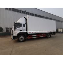 грузовик с замороженными продуктами 4x2 доставка морепродуктов Reefer truck