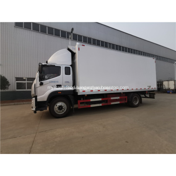frozen food truck 4x2 seafood delivery Reefer truck