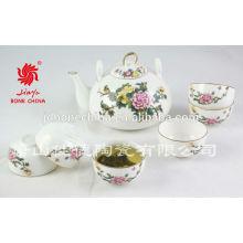 Классические модные простые фарфоровые узоры керамические чайные сервизы