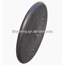 12x1 semi solid wheel for seeder compacting use