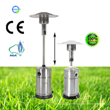Stainless Steel Patio Heater (adjust the length)