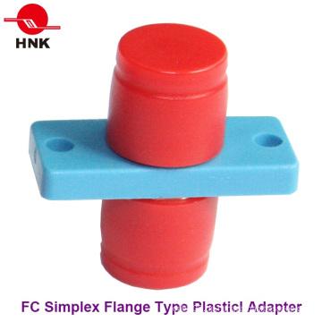 FC Simplex Flansch Typ Kunststoff Faseroptik Adapter