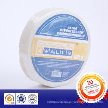 Fita adesiva de malha de fibra de vidro da marca Bokun usada em placa de cimento