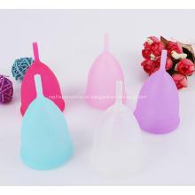 Medizinische hochwertige Menstruationstasse Damen Sterilisator Silikon Menstruationstasse