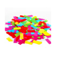 55*17 mm Rectangle Tissue Paper Used for Concert Night Club and Crazy Party