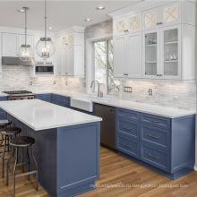Индивидуальные современные модульные кухонные шкафы для шейкера