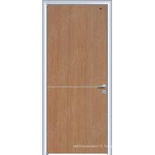 Types de portes en placage de bois, portes extérieures uniques, porte intérieure en laque UV