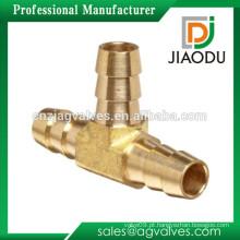 Feito à medida OEM / ODM 1 2 3 4 polegadas DN15 20 China Alta qualidade alta pressão alta pressão água mangueira 2 macho 1 fêmea latão tee