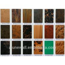Alunewall de cobre y compuesto de aluminio panel de hoja exterior fabricante de revestimientos de pared al por mayor