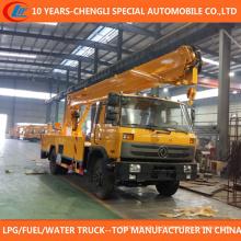 Camion plate-forme de travail aérien de camion de délivrance de 4X2 22m à vendre