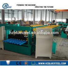 Galvanized Colored Corrugated Roof Sheet Making Machine, Sheet Metal Roofing Roll Forming Machine