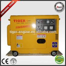 TDG6000SE TIGER BRAND DIESEL GENERATOR TDF186FE