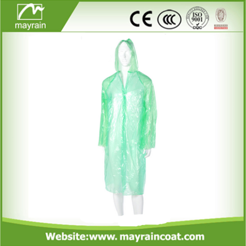 Hood Plastic Raincoats