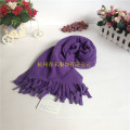 Wholesale Black Warm Winter Outdoor Sport Cycling Children′s and Adult Polar Fleece Scarves with Fringes
