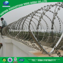 China Manufacturer Best sellers good quality of low carbon steel High security fence razor wire