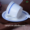 High-grade ceramic coffee cup suit European big ceramic cups and saucers