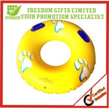 Дешевые дешевые индивидуальные ПВХ надувные Плавательный кольцо