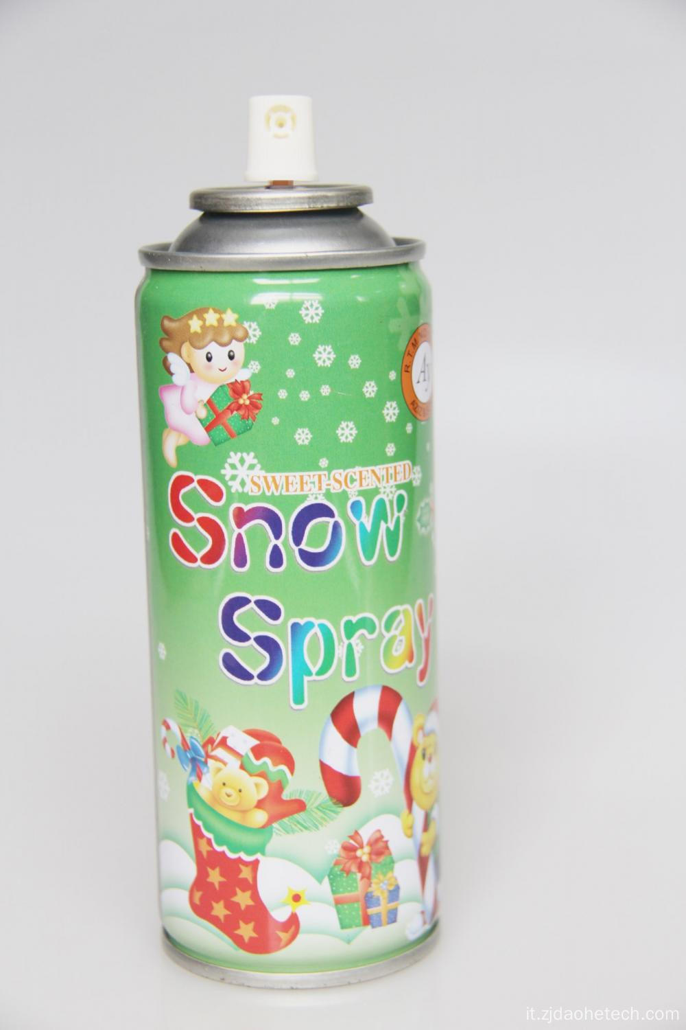 Spray da neve a schiuma volante di design 250ml