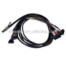 Customized SFF-8644 to SFF-8482 SAS CABLE(ERS051-006)