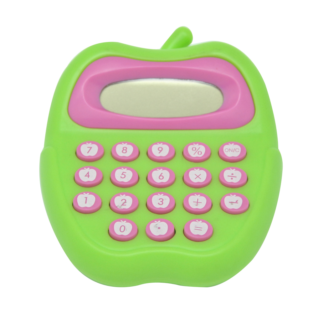 Cute Apple shape Pocket calculator for Kids