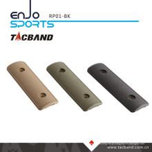 Tacband Tactical Keymod Rail Painel / Tampa - 4 polegadas preto