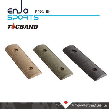 Tacband Tactical Keymod Rail Panel / Abdeckung - 4 Zoll Schwarz