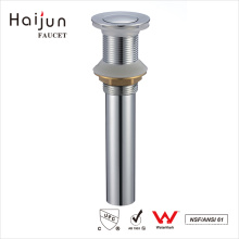 Haijun Hot Sale Chrome Plated Bathroom Bathtub Pop Up Water Sink Drain