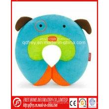 Almohada de cuello de juguete lindo perro para regalo de bebé