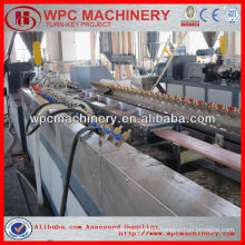 machine for making wpc products made from rice husk