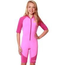 УФ-Защита девочек цельный купальный костюм (купальники Производитель)