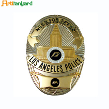 Custom Made Plaques With Metal Badge