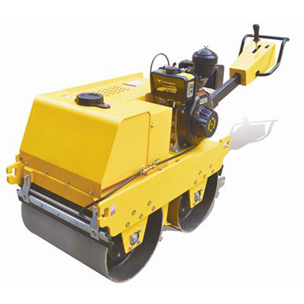 Fylj S600c Walk Behind Double Drum Road Roller
