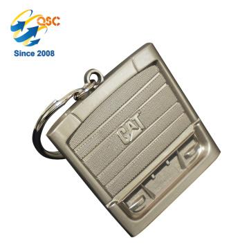 Lembrança feita sob encomenda feita sob encomenda relativa à promoção barata quente de Keychain da moeda da venda
