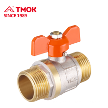 Manual 15mm high quality brass ball valve with internal thread in TMOK