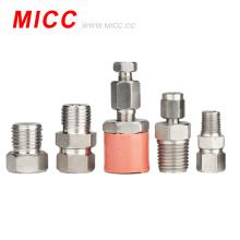 Alta precisão material do acessório SS304 / SS316 do par termoeléctrico de MICC que cabe a precisão alta