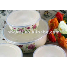 enamelware sets with PP lid