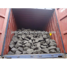 Anodenschrott / Kohlenstoffblock / brennender Brennstoff für die Kupferschmelze