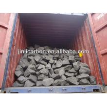 chatarra de ánodo / bloque de carbón / combustible ardiente para la fundición de cobre