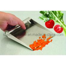 Cuchara de alimentos de acero inoxidable / Cuchara de medir / Cuchara de raspar pala / Pala de alimentos (SE2404)