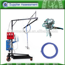 High performance fiber spray machine with gun