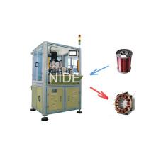 Máquina automática da bobinagem da bobina de Inslot da agulha de BLDC