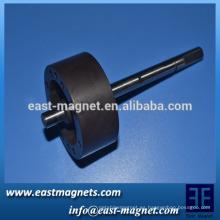 Anillo magnético multipolar / anillo multipolar imán de ferrita / rotor magnético con polos múltiples