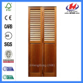 JHK-B06 Wood Louver Panels Bifold Cabinet Door