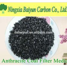 FC 85% preço de mídia de filtro de carvão antracite