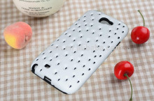 Samsung note2 hollow pattern silicon blu cell phone cases