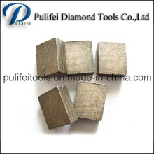 Different Powder Formula Saw Blade Diamond Segment for Cutting Stone