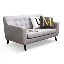 Mobiliário de sala de estar moderno 1 + 2 + 3 sofá de tecido