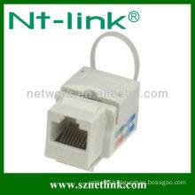 Cat6 RJ45 Keystone Jack with Cable Tie