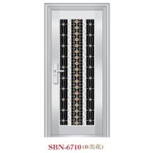 Porta de aço inoxidável para a luz do sol exterior (SBN-6710)