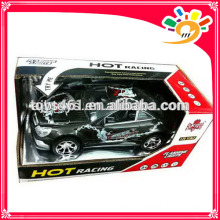 LED lighting musical toy cars with friction motor